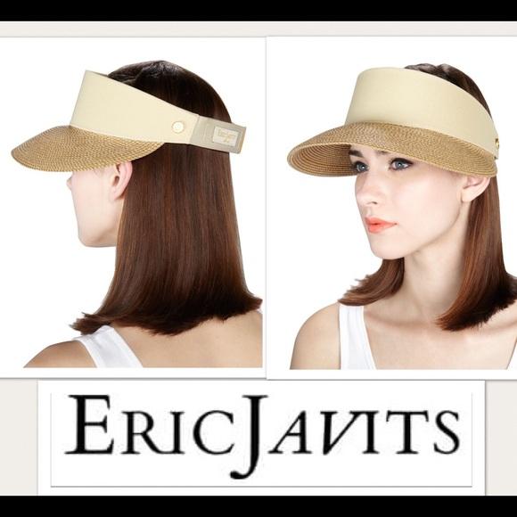 eric javits Accessories - Erick Javits Champ Sun Visor Hat cbaea9c9a69